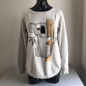 Ness koala women's sweater